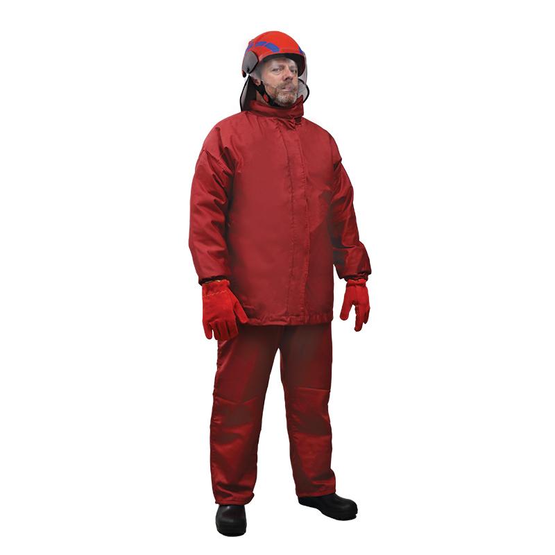 Куртка и брюкиэ,1 шлем,1 пара сапог, 1 пара перчаток, сумка для переноски
