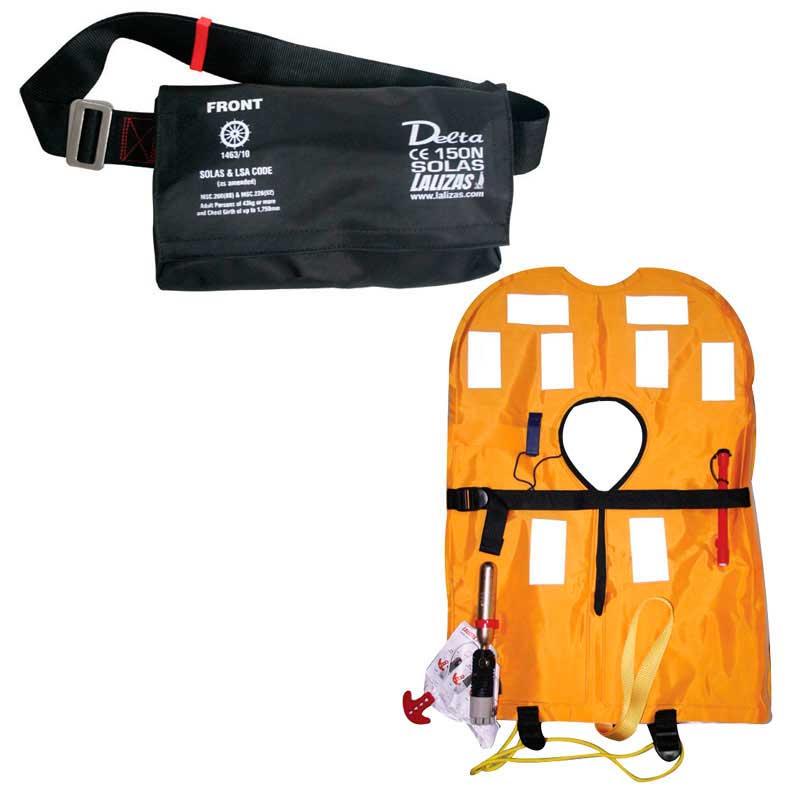 Спасательный жилет надувной c автоматическим механизмом