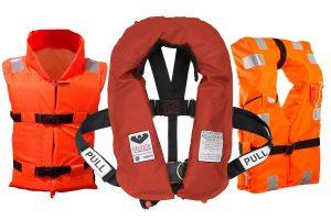 Спасательные жилеты с сертификатами РМРС и РРР