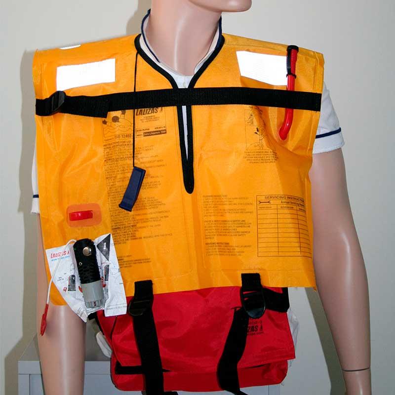 Спасательный жилет надувной Delta 150N c ручным механизмом