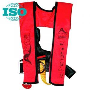 Спасательные жилеты надувные Alpha 170N c ручным механизмом